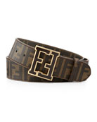 Men's Zucca College Belt, Brown