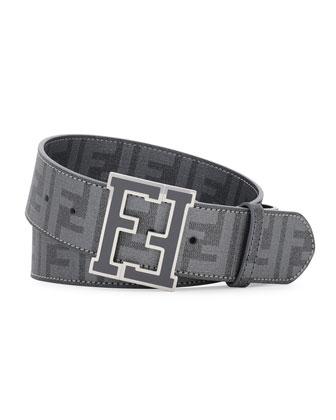 Zucca College Belt, Dark Gray
