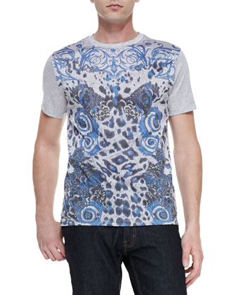 Short-Sleeve Graphic-Print T-Shirt