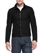 Bramley Quilted Jacket, Black