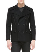 Harris Slim-Fit Peacoat