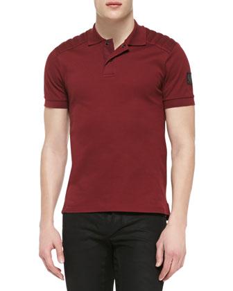 Aspley Pique Short-Sleeve Polo