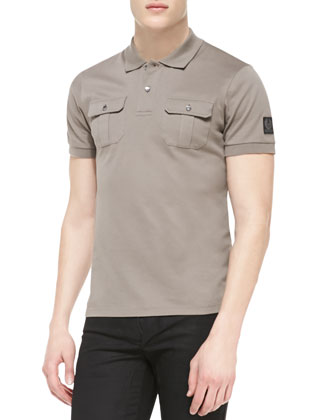 Brindley Pique Short-Sleeve Polo
