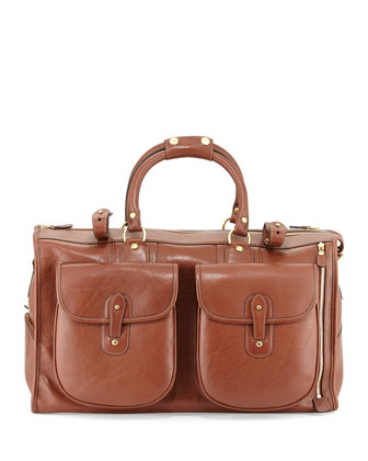 Express No. 2 Men's Weekender Bag, Chestnut Brown