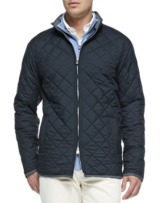 Chesapeake Quilted Jacket, Cotton-Blend 1/2-Zip Pullover & New 5-Pocket Pants