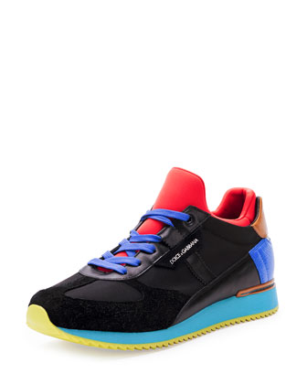 Neoprene Sock-Insole Low-Top Sneaker