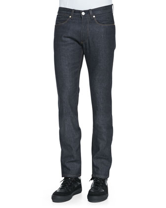 Max Slim-Fit Raw Jeans