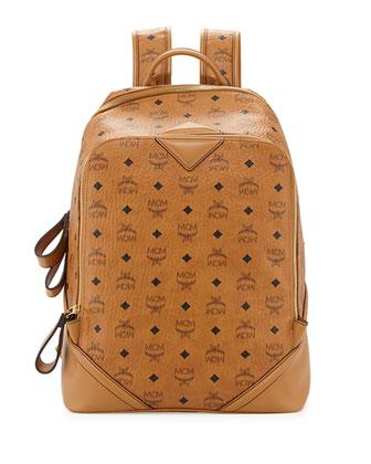 Duke Visetos Backpack, Cognac