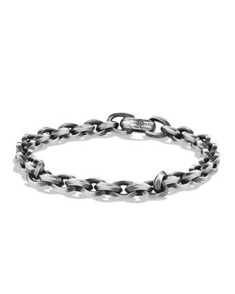 Men's Silver Chain Bracelet