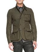 Boxworth 3-Pocket Jacket, Military Green