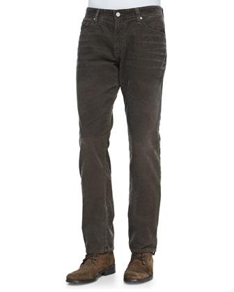 Graduate Corduroy Pants, Brown