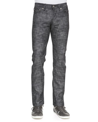 WeirdGuy Frankenstein Jeans, Black
