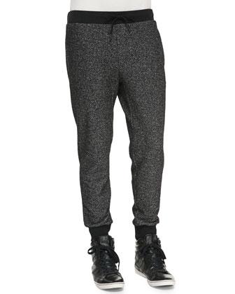Moris P Sweatpants, Black Multi