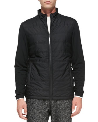Timo Lightweight Tech Jacket, Black