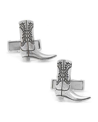 Cowboy Boot Cuff Links