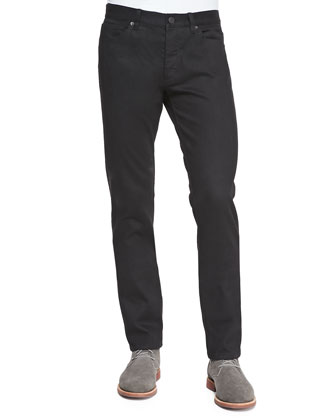 Slim Denim Jeans, Black