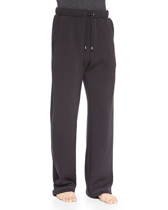 Colton Jersey Pants, Charcoal