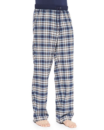 Spencer Plaid Drawstring Pants