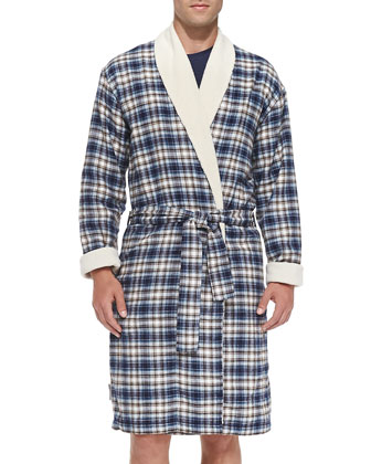 Bellamy Plaid Robe
