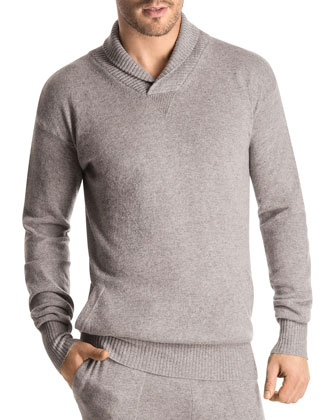 Union Square Lounge Pullover, Medium Gray