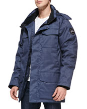 Branta Windermere Utility Jacket, Blue
