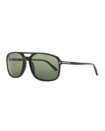 Terry Acetate Sunglasses, Black