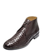 Cambridge Woven Leather Chukka