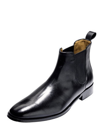 Lionel Dress Chelsea Boot, Black