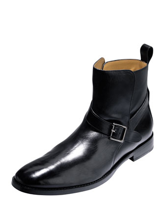 Lionel Leather Jodhpur Boot