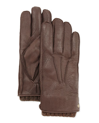 Men's 2-in-1 Whipstitch Gloves