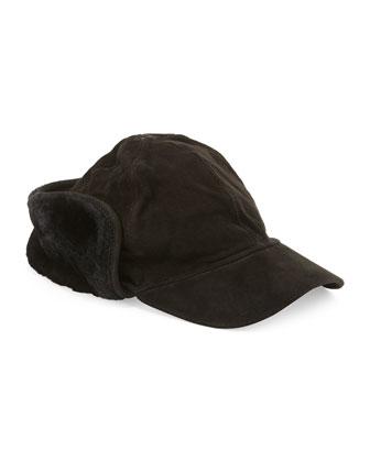 Lockwood Men's Shearling Fur Hat