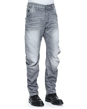 Arc 3D Riley Zip Back-Pocket Jeans