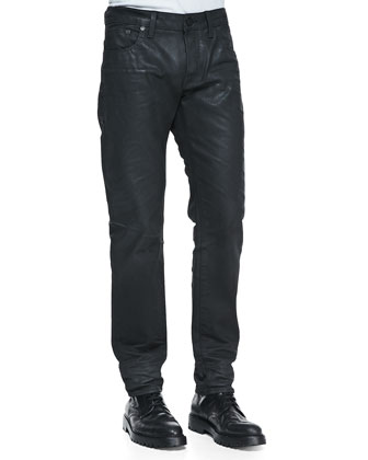 Classic Straight 3 Denim Jeans, Lt Faded Blue