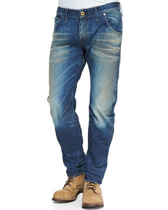 ARC 3D Denim Jeans, Med Blue