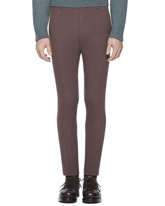 Dylan ??60s Jacket, Alpaca-Blend Turtleneck Sweater & Stretch Crepe Sharp Pants