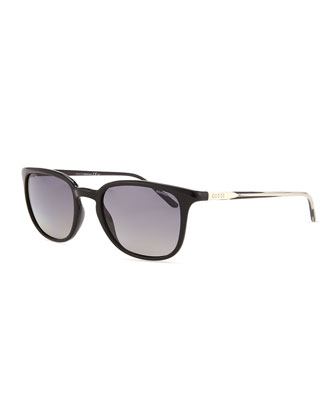 Optyl??-Frame Sunglasses, Black
