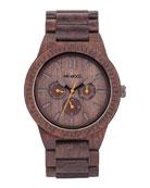 Kappa Indian Rosewood Chrono Watch