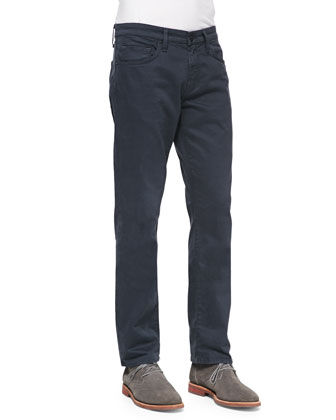 Kane Straight-Leg Harbour Blue Jeans