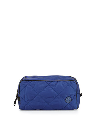 Quilted Nylon Travel Kit