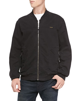 Runner Twill Jacket, Black