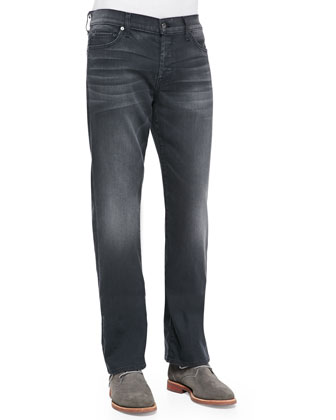 Luxe Performance: Standard Washed Jeans