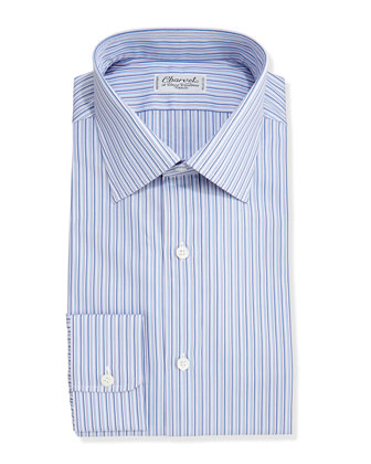 Striped Dress Shirt, Purple/Lavender