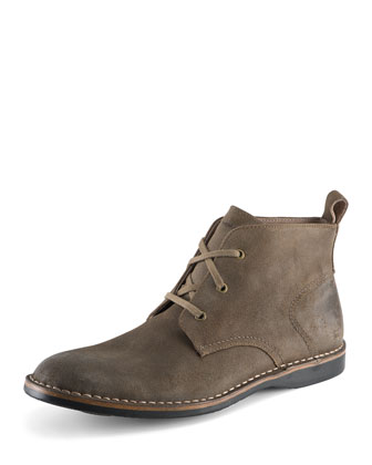 Dorchester Canvas & Leather Chukka, Tan