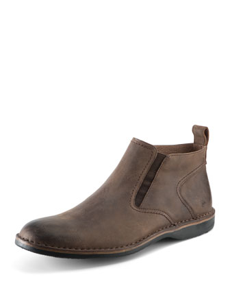 Eugene Leather Ankle Boot, Espresso