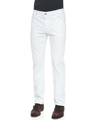 Graduate Sud Jeans, White