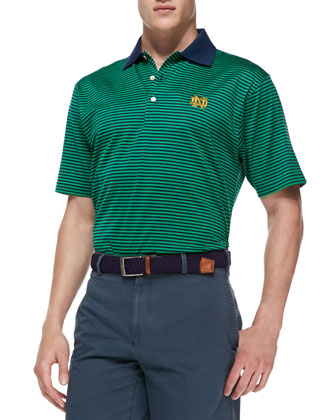 Notre Dame Gameday College Shirt Polo