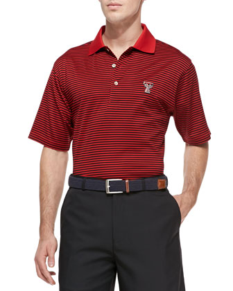 Texas Tech Gameday College Shirt Polo, Red