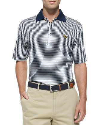Georgia Tech Gameday College Shirt Polo