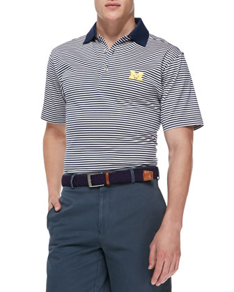 University of Michigan Gameday College Shirt Polo