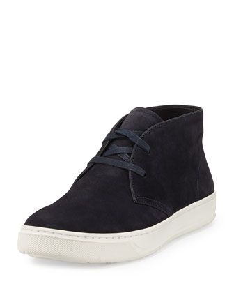 Abe Suede Chukka Sneaker, Blue